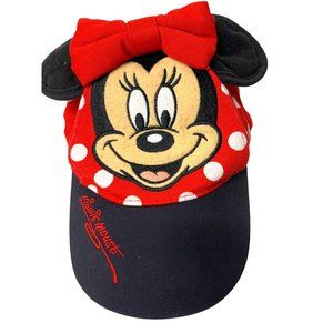 Official DISNEY Minnie Mouse Hat Adjustable
